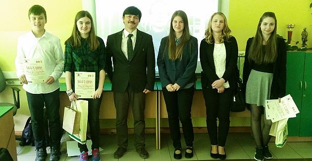 Główną nagrodą w konkursie jest wyjazd studyjny do Parlamentu Europejskiego w Brukseli ufundowany przez posłankę Danutę Jazłowiecką.