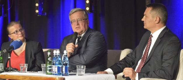 11 października 2018 debata z udziałem Prezydenta Bronisława Komorowskiego